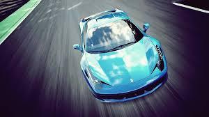 Ferrari 458 Blue - ferrari 458 blue 6956246