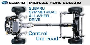 all wheel drive subaru symmetrical all wheel drive technology performance