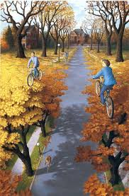 25 mind twisting optical illusion paintings by rob gonsalves bored panda