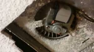 Replace Bathroom Fan How To Replace A Bathroom Fan Motor Youtube