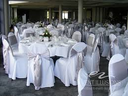 chair covers and sashes wedding chair covers sashes adelaides decoration in white 25