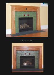arts u0026 crafts fireplace tiles and mantels fireplace mantels
