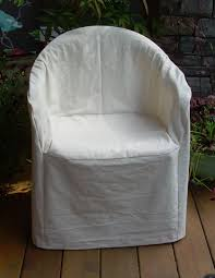 Outdoor Plastic Chairs My Favorite Hemp Cotton Slipcover For Outdoor Plastic Chair