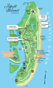 jekyll island map cottage map kaufman realtors