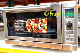 Cuisinart Toaster Oven Broiler With Convection Costco Sale Cuisinart Deluxe Digital Convection Toaster Oven
