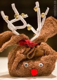washcloth reindeer fun family crafts
