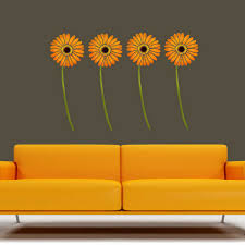 give a touch of creativity to your home with the wall stickers floral motif wall sticker