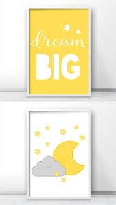 Grey And Yellow Nursery Decor by Pink And Gray Nursery Print Baby Nursery Wall Art Baby