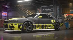 nissan gtr skyline 1999 need for speed payback build of the week 3 u2013 1999 nissan skyline