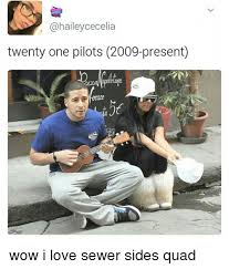 Quad Memes - twenty one pilots 2009 present wow i love sewer sides quad meme