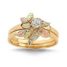 black gold wedding sets 54 best wedding rings images on wedding bands promise