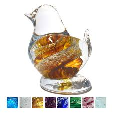 cremation ashes cremation ashes glass birds