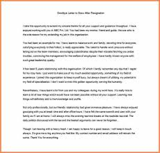 6 thank you letter to boss after resignation sample resign
