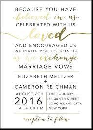wedding ceremony invitation wording new wedding invitation wording no ceremony wedding invitation design
