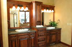 Wooden Mirrored Bathroom Cabinets Recessed Mirrored Medicine Cabinet With Lights Bathrooms Cabinets