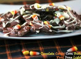 dark chocolate candy corn bark recipe dark chocolate candy