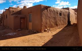adobe house taos pueblo adobe houses kiva architecture plans 81466