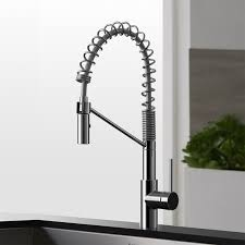 kraus kitchen faucets kraus kpf 2630 mateo single lever commercial style kitchen faucet