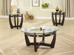 Glass Round Coffee Table by Round Occasional Tables Emerald Home Furnishings Emerald Home