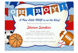 baby shower invitations at party city sports themed baby shower invitations party city jpg