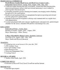 Coach Resume Example by Resume Examples For Kinesiology Resume Ixiplay Free Resume Samples