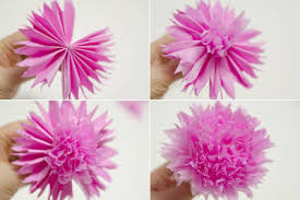 crepe paper flowers how to make beautiful crepe paper flowers and chocolates