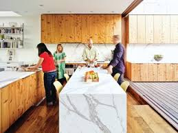 carrara marble kitchen island 10 modern exles that show how to use marble in the kitchen dwell