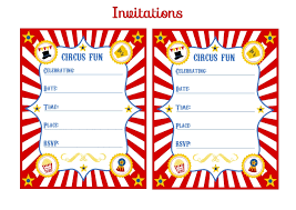 free circus birthday party printables from printabelle catch my