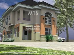 modern duplex house plans in nigeria house modern