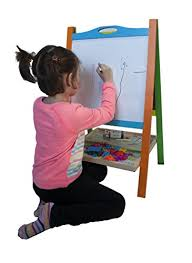 magnetic easel for toddlers elk bear double sided magnetic whiteboard painting easel for small
