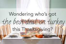 best grocery deals for thanksgiving 2013 compare prices for