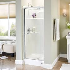 knob shower doors showers the home depot