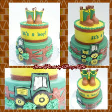 cowboy boot topper baby boy shower cake cakecentral com