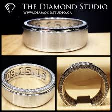 wedding bands toronto 80 best his band images on wedding bands diamond