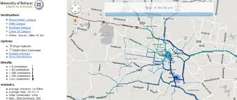 commute map maps mania commuting times on maps