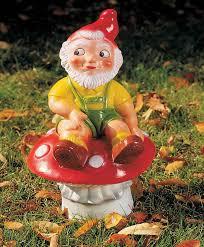 buy garden gnome toadstool bakker com