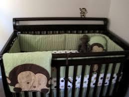 Crib Bedding Monkey Graceful Monkey Crib Bedding Home Inspirations Design