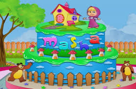 masha and the bear cake best cooking games for girls youtube