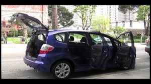 2010 honda fit review youtube