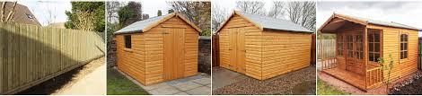 Garden Summer Houses Scotland - wooden sheds glasgow garden storage scotland wooden garages