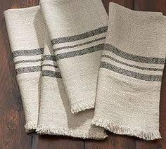 pottery barn table linens wheaton stripe napkin set of 4 navy napkins set napkins and