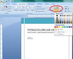 membuat novel di ms word cara membuat cover buku mengunakan ms word 2007 neva melinda