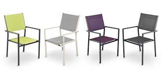chaise de jardin fauteuil de jardin terra gris clair lot de 6 achetez nos