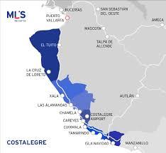Bucerias Mexico Map by Costalegre So Close And Yet So Far Mls Vallarta