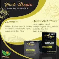 Sabun Vitamin E sabun black mayva mempunyai kandungan bahan yang sama dan 100