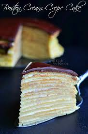 double chocolate chocolate pudding crepe cake will cook for smiles