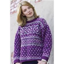 Free Northern Lights Sweater In Free Northern Lights Fair Isle Pullover Knit Pattern