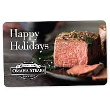 omaha steaks gift card online gift certificates gift cards unique gift