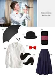 mary poppins simple costumes black tights and mary poppins
