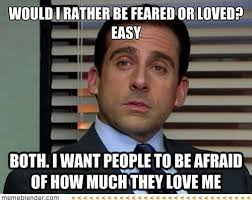 Leadership Meme - management lessons from michael scott paul dughi com